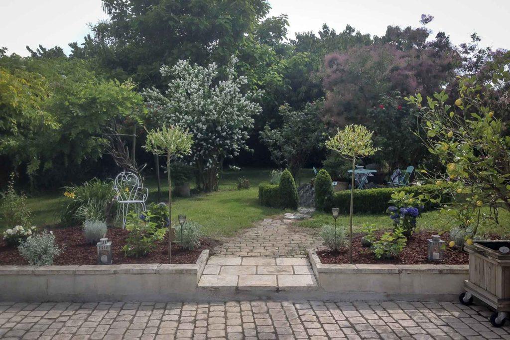 Jardin de la Villa des Trois Grâces