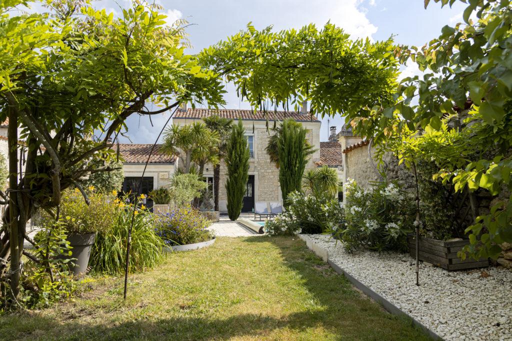 Villa des Trois Grâces - jardin